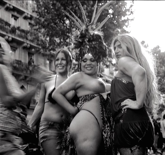 Paris Gay Parade / Rolleiflex